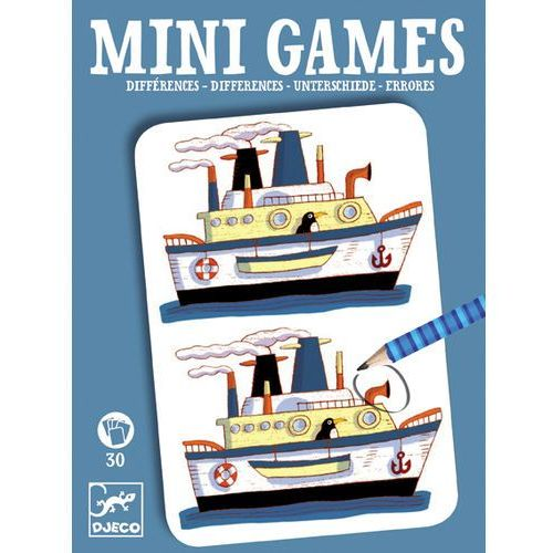 Djeco Mini games gra podróżna - znajdź różnice remi dj05306