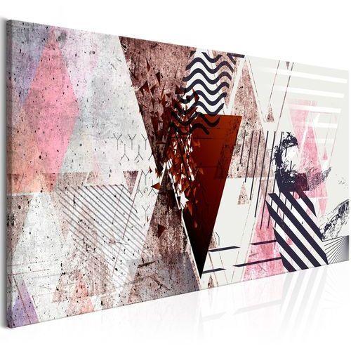Obraz - geometryczne tło (1-częściowy) wąski marki Artgeist