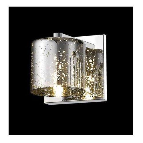 Kinkiet pioli srebrny klosz w kropki, w0369-01a-b5gr marki Zuma line