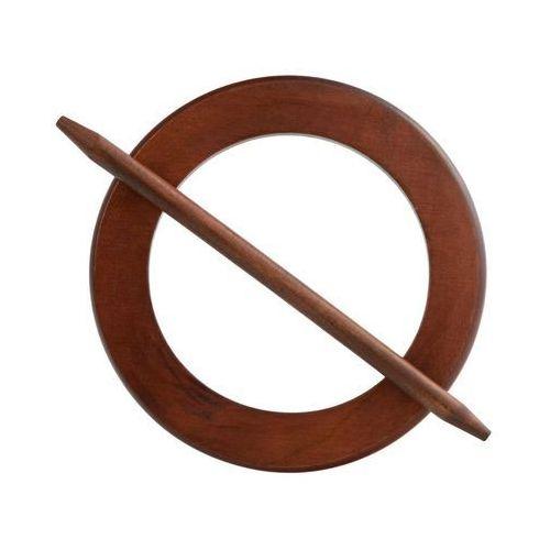 Upinacz do zasłon brązowy okrągły śr. 17 cm INSPIRE (3276004901958)