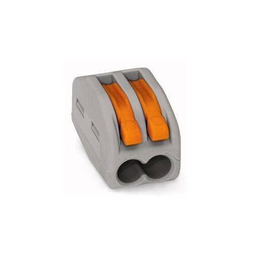 Złączka instalacyjna 2x uniwersalna 222-412 Wago (4050821346470)