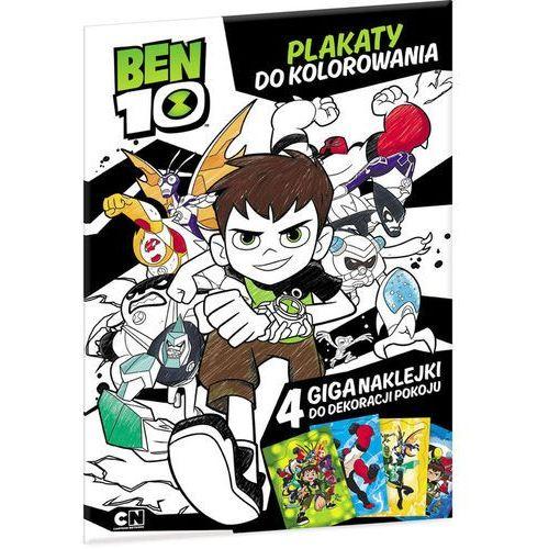 Ameet Ben10 plakaty do kolorowania - od 24,99zł darmowa dostawa kiosk ruchu (9788325327033)