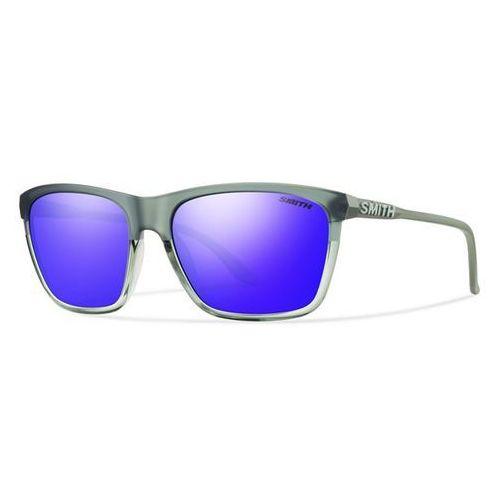 SMITH - Delano Pk Smoke Split Purple Sol-X (FWR-58TE) rozmiar: OS