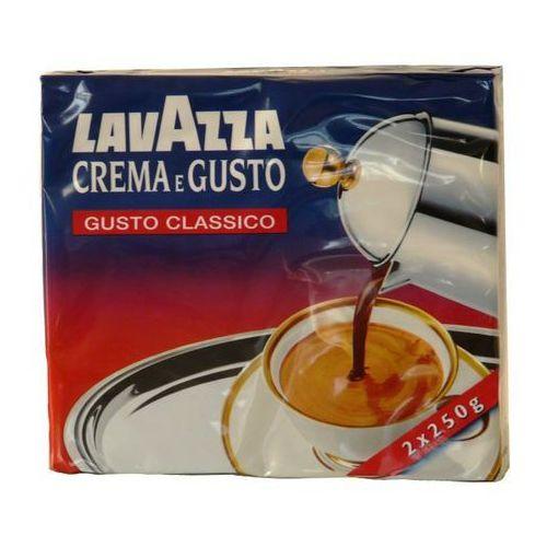 Lavazza kawa mielona 2x250 g crema e gusto classico marki Luigi lavazza