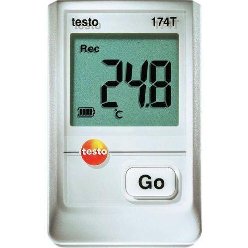 Rejestrator temperatury testo 174T 0572 1560 Kalibracja Fabryczna (bez certyfikatu) (4029547010798)
