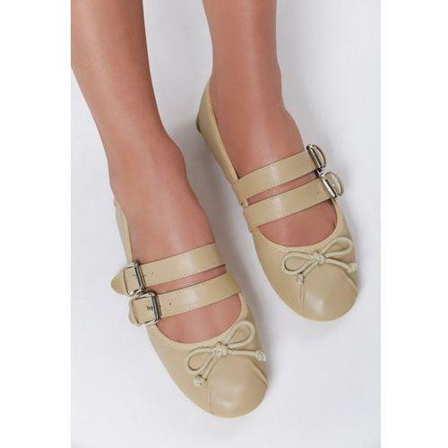 Beżowe balerinki kedela marki Vices