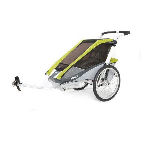 Wózki na rower Chariot Cougar 1 Zielony