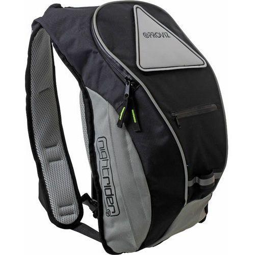Proviz nightrider plecak 10l czarny 2018 plecaki szkolne i turystyczne (5030578678757)