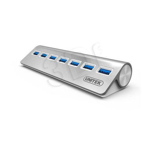 HUB USB Unitek Y-3187 Aluminiowy 7x USB 3.0 (Y-3187) Darmowy odbiór w 21 miastach!, Y-3187