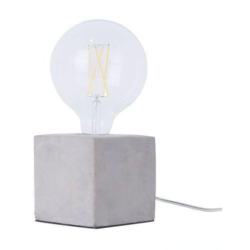 Lampa stołowa betonowa DEVA
