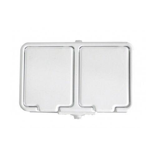Schneider electric Schneider - gniazdo 2x2p pe ip44 nt-230h cedar biały