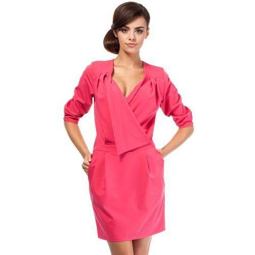 Sukienka Model MOE194 Pink, kolor różowy