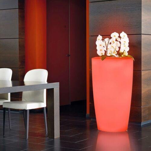Lampa dekoracyjna rovio iv donica rgb biała marki Degardo