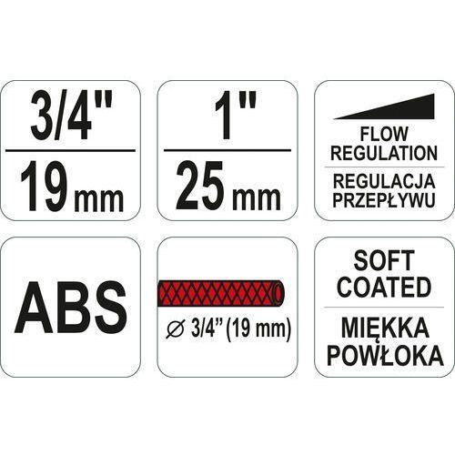 """Yato Zestaw złączek ze zraszaczem 4szt, 3/4"""" i 1"""" yt-99832 - zyskaj rabat 30 zł"""