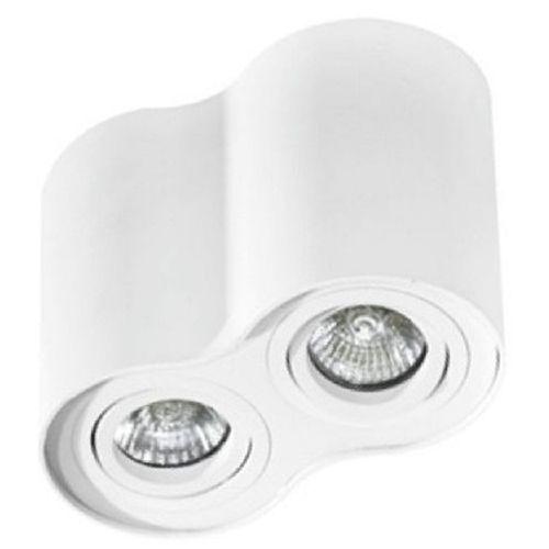 Azzardo Lampa techniczna bross 2 white (5901238408598)