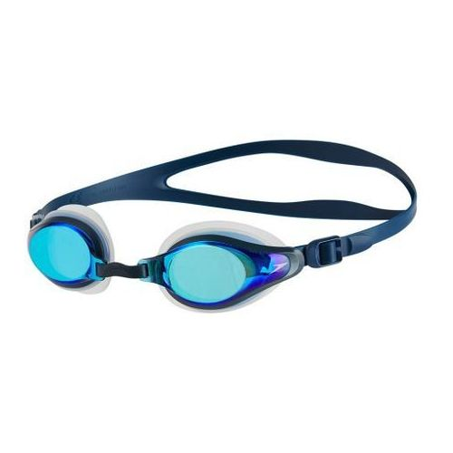 Okulary Speedo Mariner Supreme Mirror Clear-Navy-Blue Mirror 811319B974