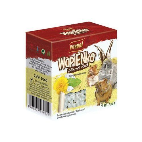 Vitapol kostka wapienna z mniszkiem lekarskim dla gryzoni i królika - darmowa dostawa od 95 zł! (5904479010629)