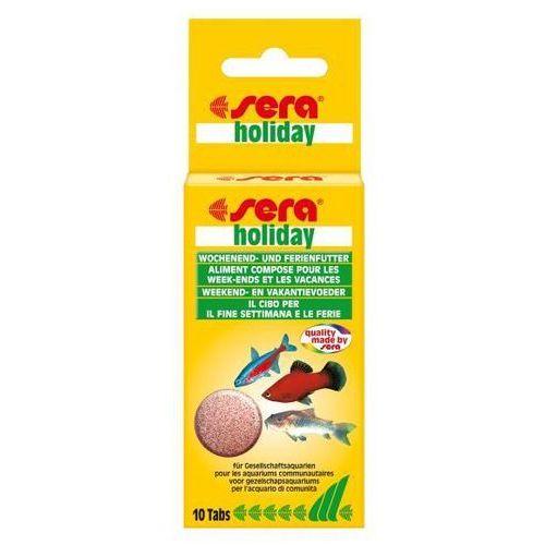 SERA Holiday pokarm w tabletkach dla rybek 10tabl.