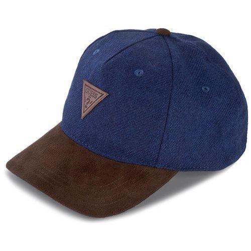 Czapka z daszkiem GUESS - AM6622 POL01 BLU, kolor niebieski