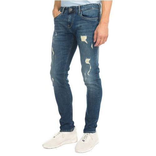 Pepe Jeans Hatch Dżinsy Niebieski 29/34, kolor niebieski