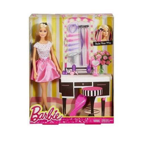 Lalka barbie stylizacja włosów djp92 marki Mattel
