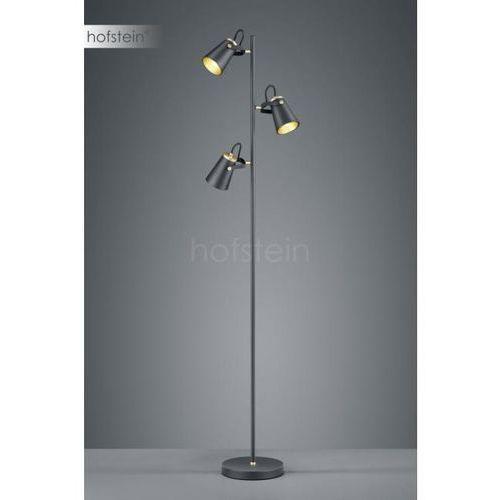 Trio edward lampa stojąca czarny, 3-punktowe - nowoczesny/przemysłowy/skandynawski - obszar wewnętrzny - edward - czas dostawy: od 2-3 tygodni