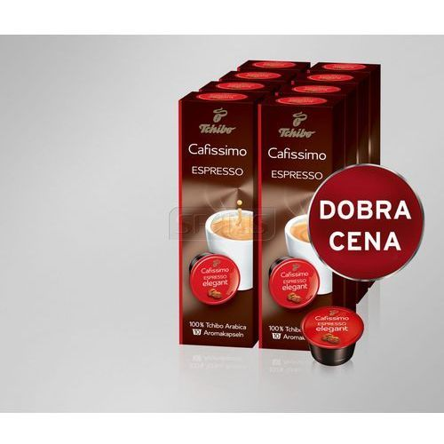 Tchibo Kawa w kapsułkach Cafissimo 8x10szt. Espresso Elegant Aroma - 476269