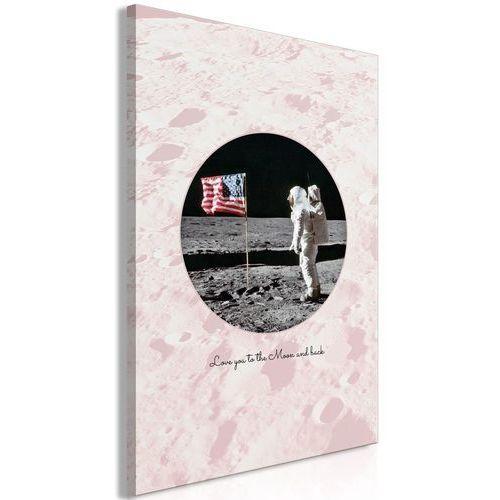 Obraz - Love You to the Moon and Back (1-częściowy) pionowy