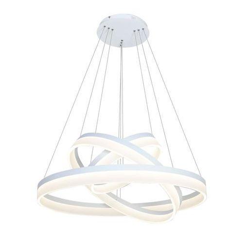 Wisząca LAMPA futurystyczna RING 4080 Milagro zwis OPRAWA okręgi circles białe, 4080
