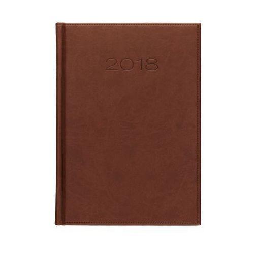 Kalendarz książkowy B5 Vivella brązowy 51D dzienny