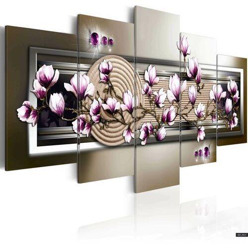 SELSEY Obraz - Magnolia i zen 200x100 cm (5902409990430)