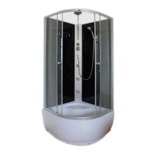 Armazi Kabina prysznicowa z hydromasażem apollo 90 x 90 x 235 cm wysoki brodzik (5908264688420)