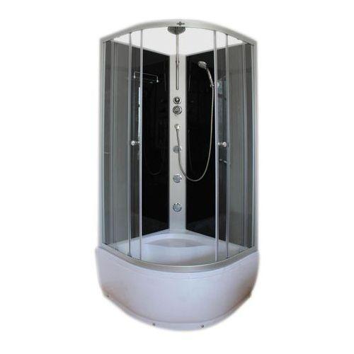 Armazi Kabina prysznicowa z hydromasażem apollo 90 x 90 x 235 cm wysoki brodzik