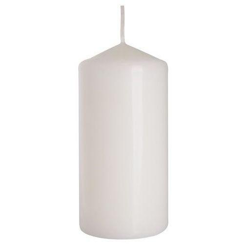 , sw60/120, świeca walec, biała, 6x12cm, 1 sztuka marki Bispol