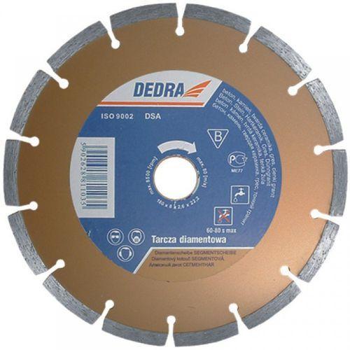 Dedra Tarcza do cięcia h1107 125 x 22.2 diamentowa segmentowa + zamów z dostawą jutro! (5902628811073)