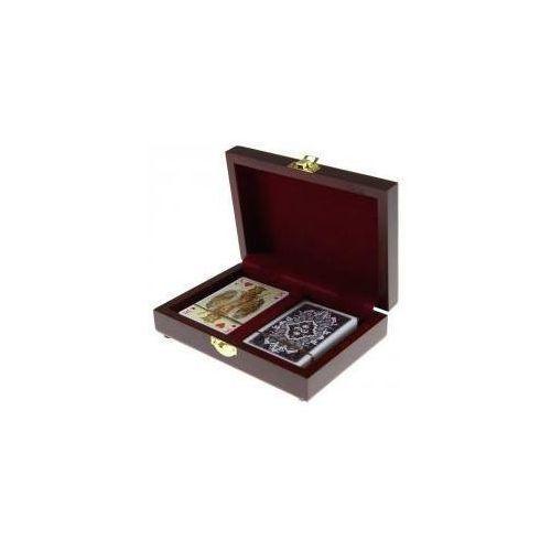 Karty lux w pudełku drewnianym PIATNIK (9001890280092)