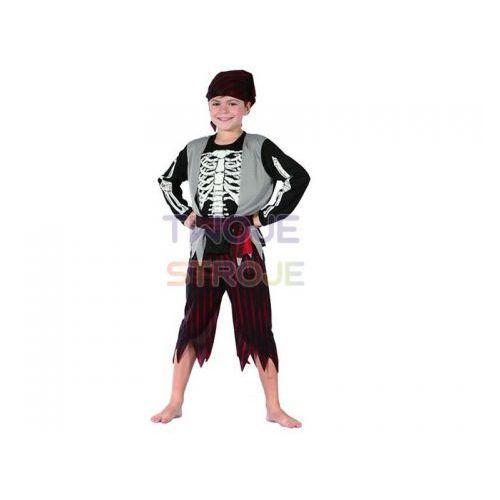 Strój pirat szkieletor rozmiar 120/130 cm marki Godan