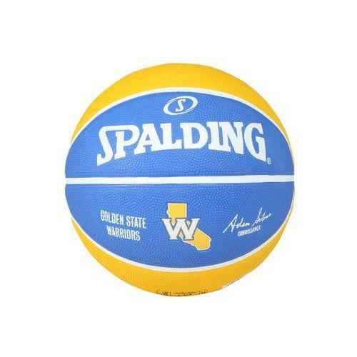 Spalding NBA TEAM GOLDEN STATE WARRIORS Piłka do koszykówki blau/gelb (4051309623021)