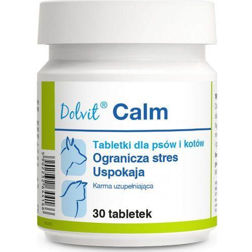 Tabletki Dolvit Calm dla psa i kota 30 tabletek