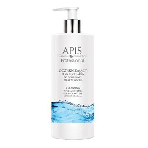 oczyszczający płyn micelarny do demakijażu twarzy i oczu - 500 ml (52175) marki Apis
