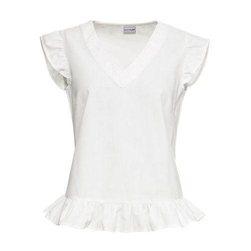 "Shirt ""boxy"" + top (2 części) turkusowo-morski panda marki Bonprix"