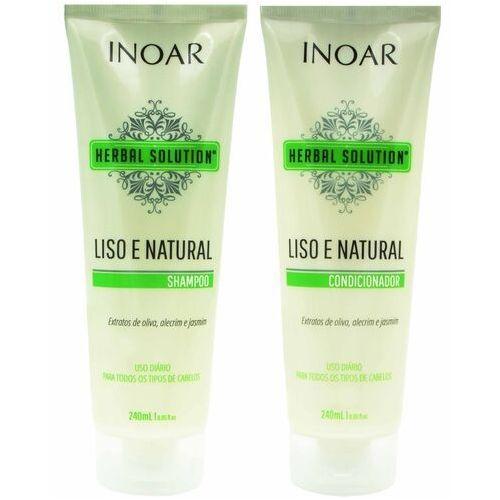 INOAR Herbal Solution szampon + odżywka, oczyszczenie i regeneracja 2x250ml, 13803