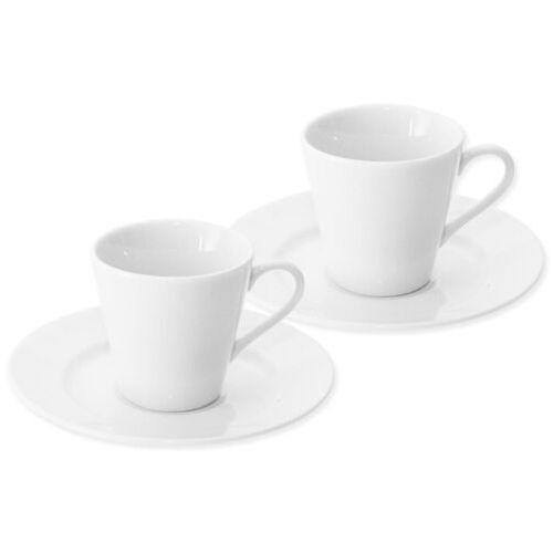 Orion filiżanka porcelanowa z podstawką Espresso, 90 ml, 2 szt., 107695