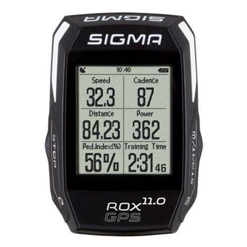 Sigma licznik rowerowy sigma rox 11.0 gps basic black (4016224010066)