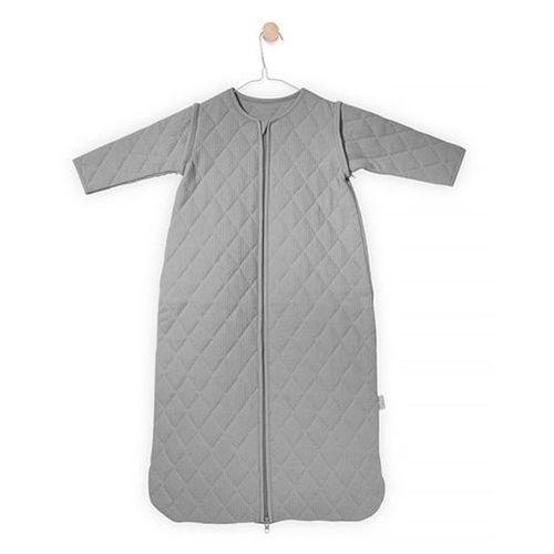Jollein - Śpiworek do spania z odpinanymi rękawkami Mini waffle Szary, 18-36 m-cy, 110 cm, 016-542-65072