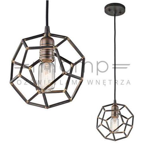 Elstead Industrialna lampa wisząca rocklyn kl/rocklyn/mp rs  kichler metalowa oprawa zwis bryła vintage stal