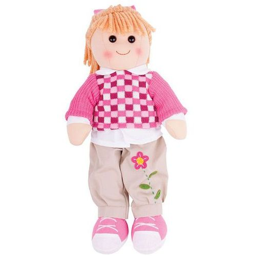 Bigjigs Toys Szmaciana lalka Melanie 38 cm