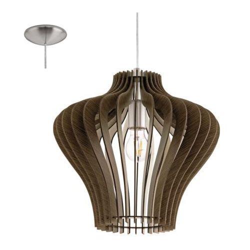 Lampa wisząca cossano brązowa, 95259 marki Eglo