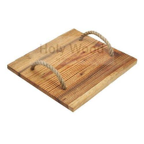 Retrocegielka Deska do serwowania wędlin, serów 34 x 38 cm
