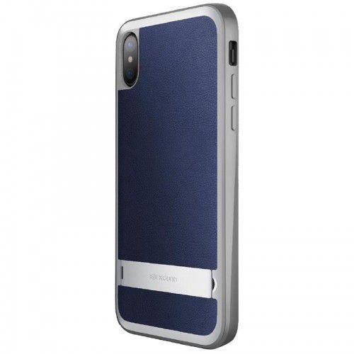 X-doria stander - etui z podstawką iphone x (blue) (6950941461276)